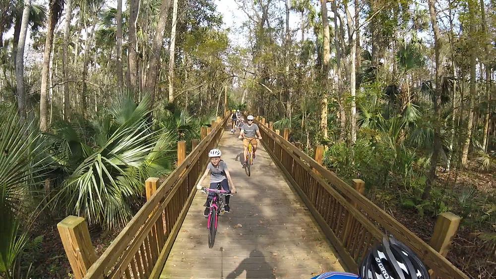 Celebration bike trail