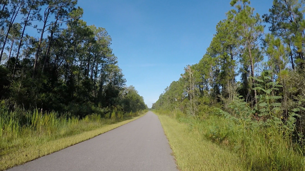 Coast to Coast bike trail in Florida
