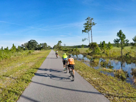 Florida's Bike Trails - Riding part of the Coast to Coast Connector