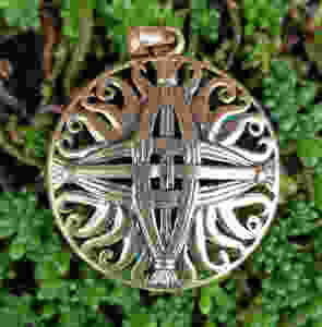 This is one of many variations of Brigid's symbols.