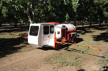 Herbicide Strip Sprayer - Harvesting Equipment
