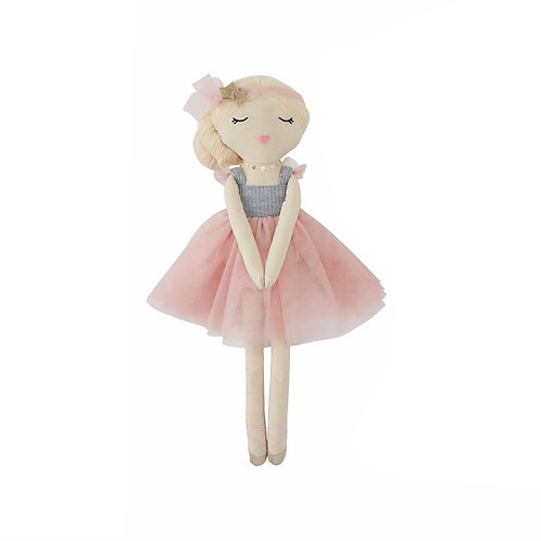 Blonde Ballerina Doll