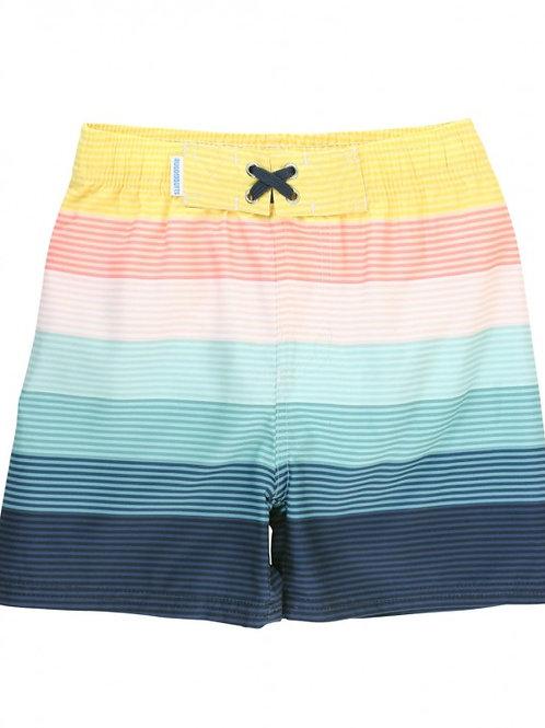 Island Stripe Swim Trunks
