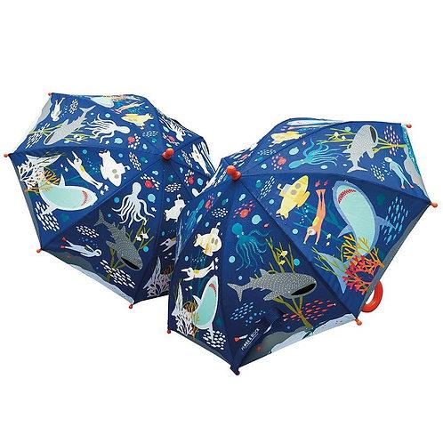 Deep Sea Color Changing Umbrella