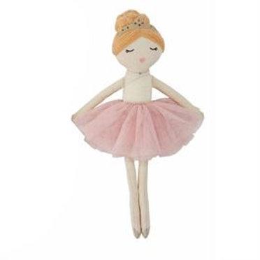 Red Head Ballerina Doll