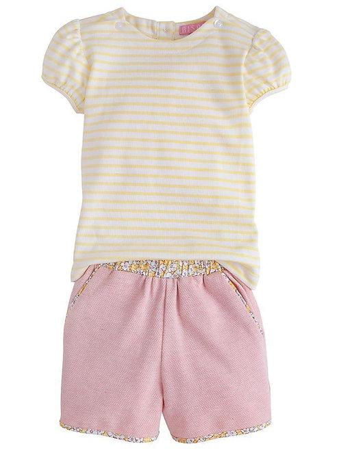 Pink Rosie Short Set