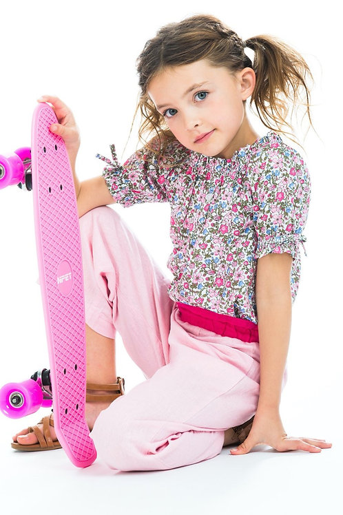 Pink Petite Garden Millie Top