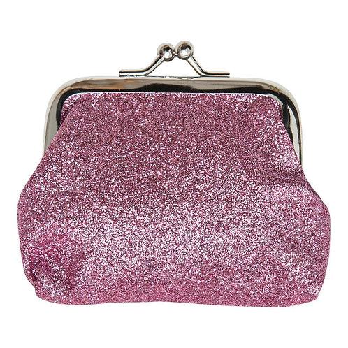 Pink Glitter Coin Purse