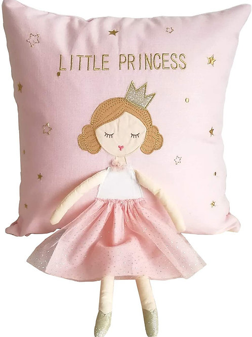 Whimsical 'Believe In Magic' 3D Decorative Pillow