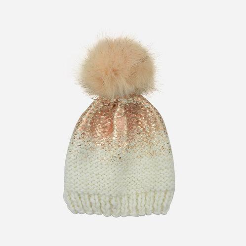 Pink Metallic Hat
