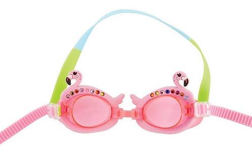 Flamingo Girl Googles