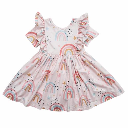 Over the Rainbow Twirl Dress