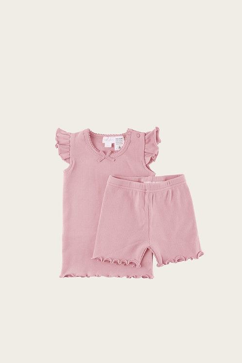 Rose Summer Pyjama Set