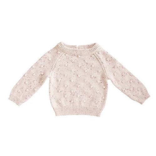 Raspberry Dotty Knit