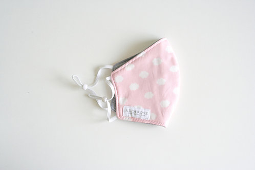 Youth Pink Cloud Mask
