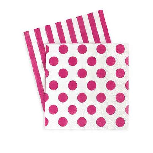 Pop Pink Napkins