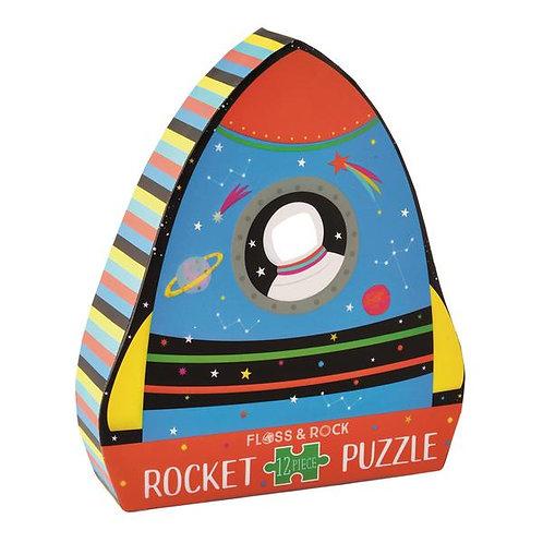 Rocket Jigsaw Puzzle- 12 piezas