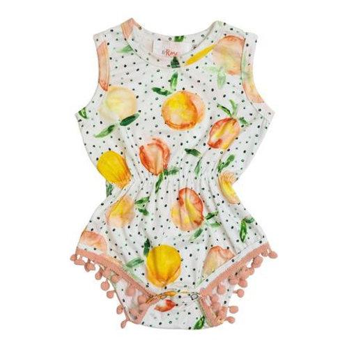 You're a Peach Romper