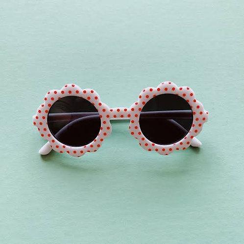 White Flower Girl Sunglasses
