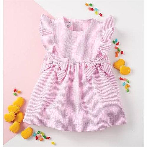Pink Seer Dress