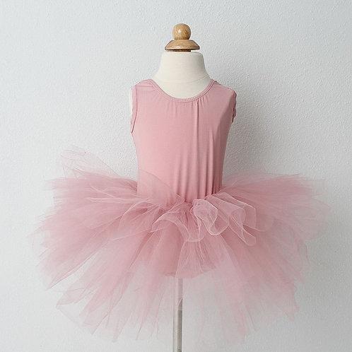 Vintage Pink Tutu Leotard