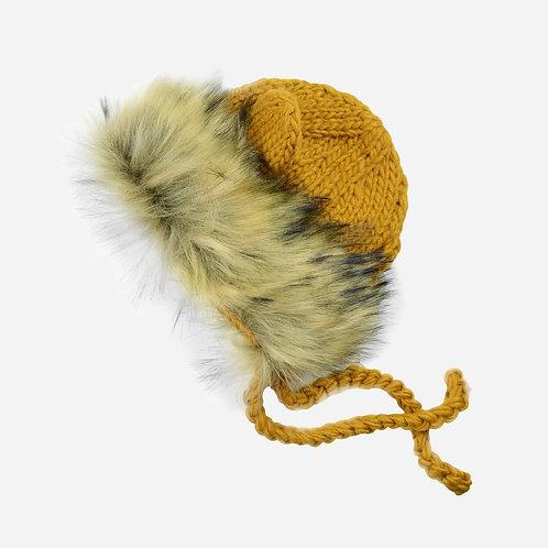 Mustard Lenon Lion Hat