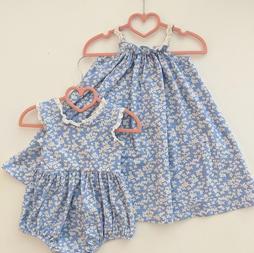 Poppy's Pocket Dress Cornflowers