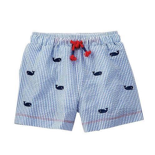 Schiffli whale Swimwear