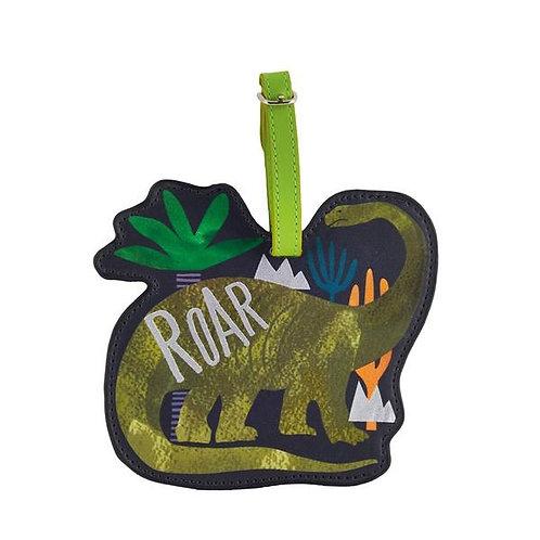 Dinosaur Lugagge ID Tag