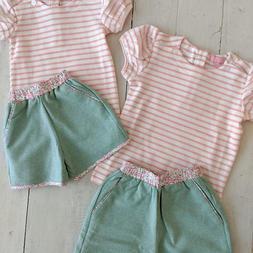 Seafoam Rosie Short Set