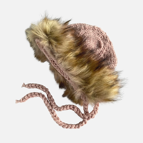 Pink Lenon Lion Hat