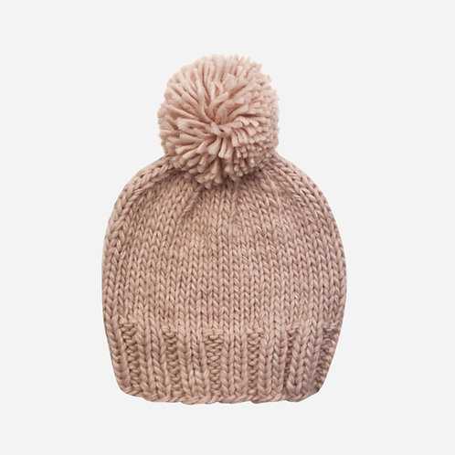 Blush Merino Hat