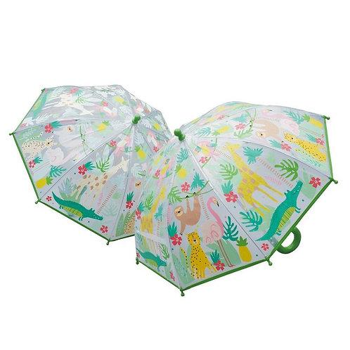 Jungle Color Changing Umbrella