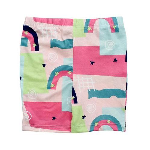 Rainbow Road Twirl Shorts