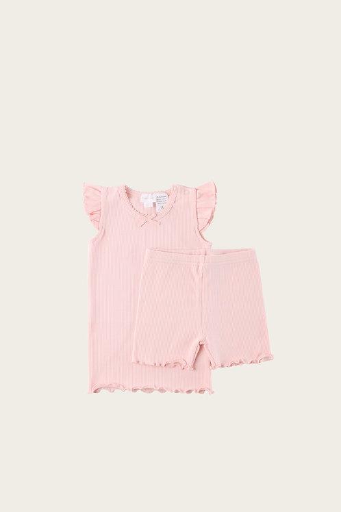 Blush Summer Pyjama Set