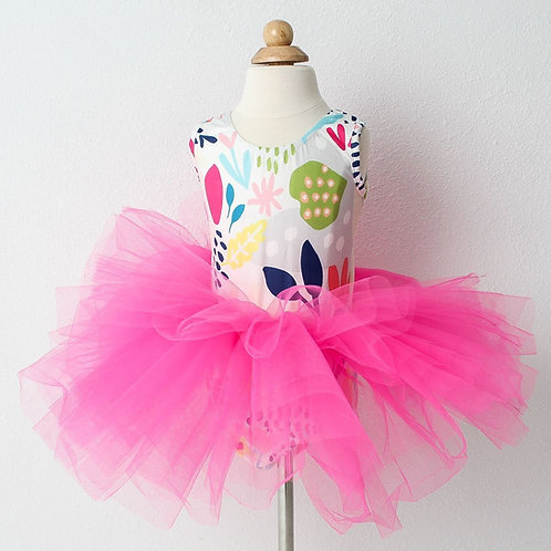 Flower Market Tutu Leotard