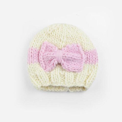 Sabrina Pink Bow Hat