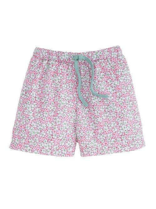 Pink Daisies Play Short