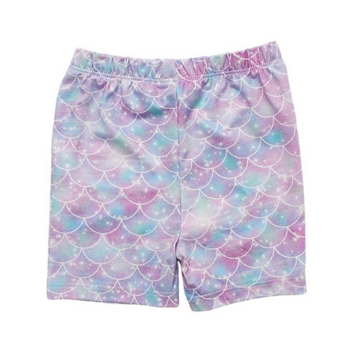 Mermaid Sparkles Twirl Shorts