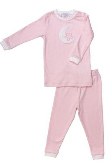 Pink Moon & Star Pijama