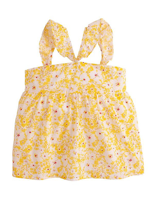 Yellow Soho Floral Top