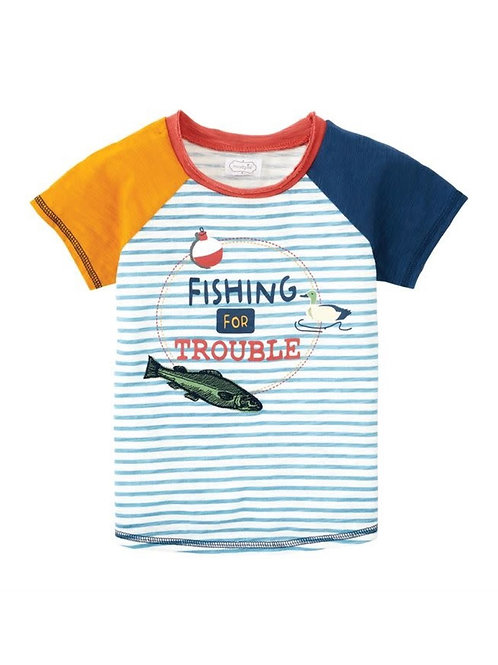 Fishing For Trouble Boy Tee