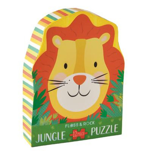 Lion Jigsaw Puzzle- 12 piezas