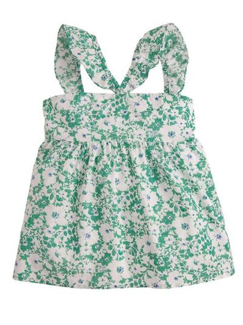 Green Soho Floral Top