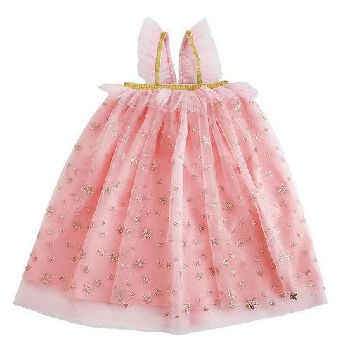 Glitter Pink Mesh Dress