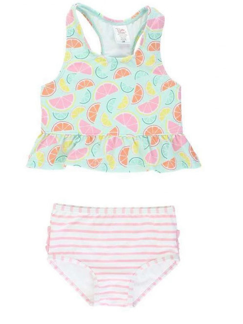 Squeeze The Day Peplum Tankink
