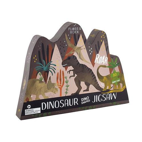 Dinosaur Shaped Jigsaw 80pcs
