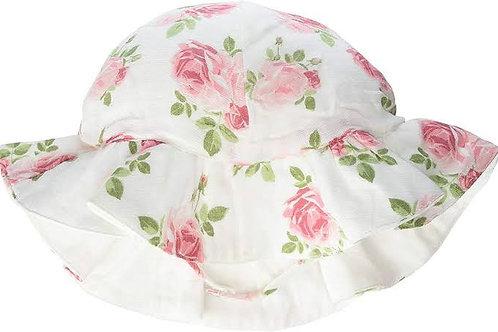 Muslin Rose Sun Hat