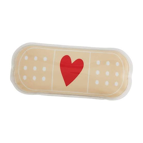 Tan Band Aid Ouch Pouch