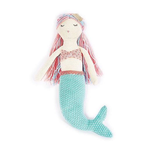 Mia Mermaid Cotton Doll